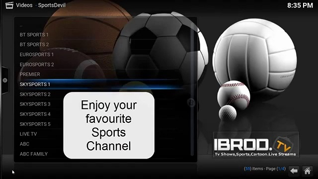 SportsDevil Download Kodi Addon