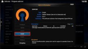 openvpn install option